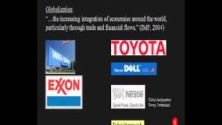 World Geography - Economic Geography - Globalization