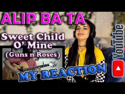 My Reaction Alip Ba Ta – Sweet Child O Mine (Guns N Roses)