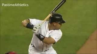 miguel cabrera hitting mechanics bat path slow motion home run tigers mlb baseball tips