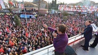 Mustafa Sarıgül Silivri Uğur Mumcu Meydanı'nda (27.02.2014)