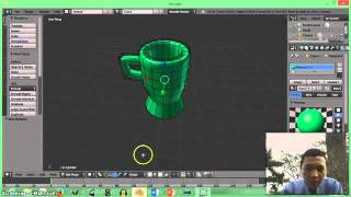 Tutorial Blender (Membuat Gelas by Hilman)