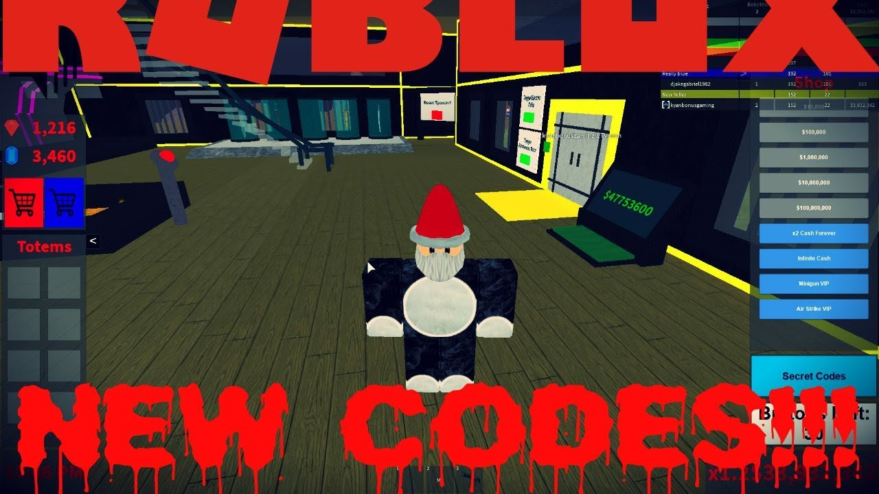 Codes For Blood Moon Tycoon Roblox 2019   StrucidCodes.org