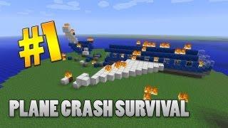 Minecraft 1.3.2 Adventure Map - Plane Crash Survival: Part 1