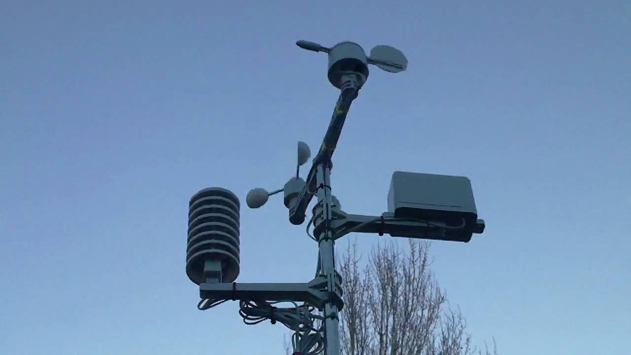 Ws2083 Weather Station Pole Mounted 60 Fps Outdoor Unit