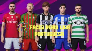 PES 2020 TODAS AS FACES REAIS /LIGA PORTUGUESA!