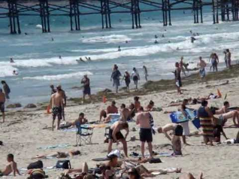 """San Diego Beaches - Pacific Beach and the """"PB"""" Boardwalk"""