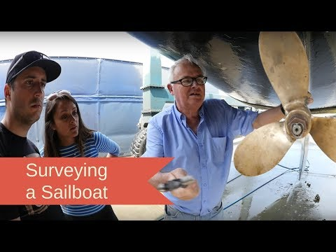 Surveying and buying a new sailboat! | EP 03
