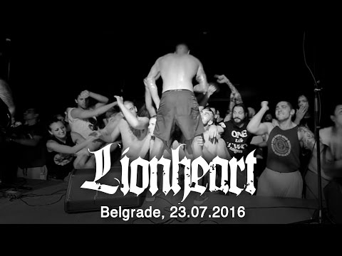 LIONHEART - Live in Belgrade / Serbia, 23.07.2016