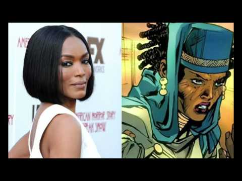 Eclecticka: guest Regine Sawyer and Angela Bassett in the Black Panther film