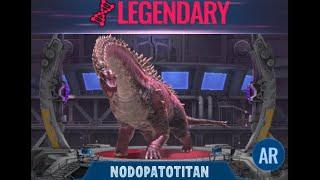 NODOPATOTITAN UNLOCKED! - Jurassic World Alive