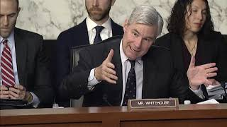 Senator Whitehouse Questions Inspector General Mike Horowitz
