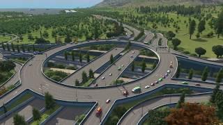 Alternative Highway Intersection | Cities Skylines