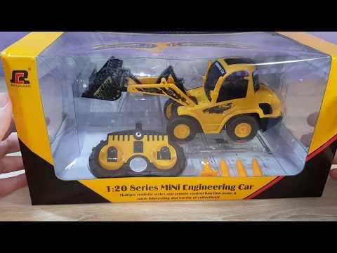 MINI RC Toy QINGYI 120 6CH RC Dump Truck QY0101 Mini Truck from Banggood