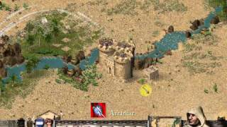 Stronghold Crusader Trail 33. Misty River Without Ox Thether (Woodcutters Hut) Trick