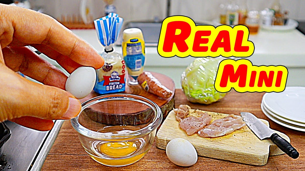 BEST OF MINIATURE CUSINA VIDEO COMPILATION MINIATURE REAL COOKING