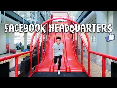 Gadgetwala's Virtual Tour of Facebook Campus, Palo Alto, San
