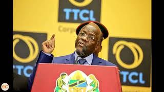 Wafanyakazi wa serikali sasa ni lazima wawe na line za TTCL, Rais Magufuli awachimba Mkwara Mzito