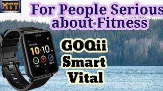 GOQii Smart Vital smartwatch. Full details of GOQii company. Best watch for fitness freak people.