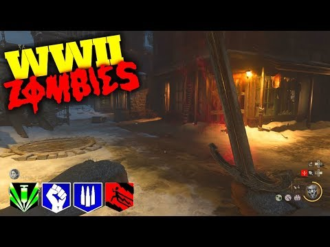 WW2 ZOMBIES: THE FINAL REICH FULL EASTER EGG! SWORD UPGRADE & BOSS FIGHT! CALL OF DUTY WW2