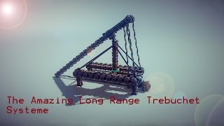 Besiege Ultra Long Range Trebuchet - Hd