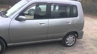 Видео-тест автомобиля Nissan Cube (Z10, Cg13de, 1998, серый)