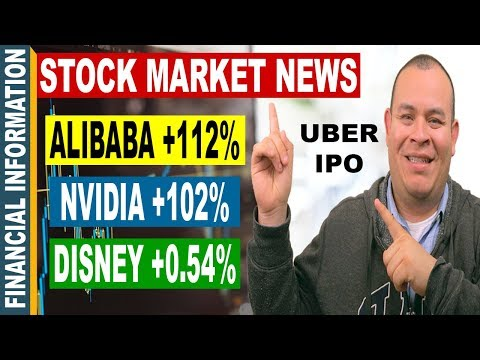 Alibaba, Uber IPO, Tesla, Nvidia, Walt Disney, Tax Plan | November Stock Market News | Nov 6-10