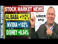 Alibaba, Uber IPO, Tesla, Nvidia, Walt Disney, Tax Plan   November Stock Market News   Nov 6-10