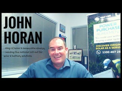 John Horan - King Of Solar Interview
