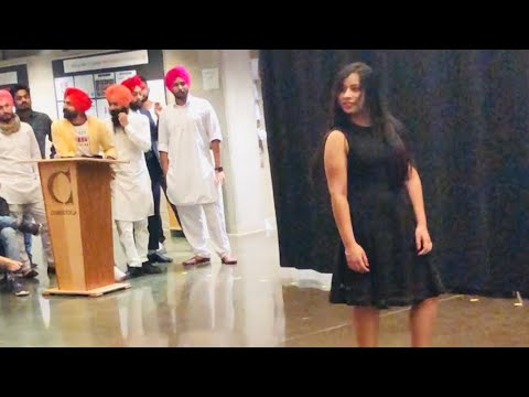 Modelling in Conestoga College #Multicultural function