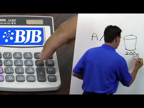 Mix Ratio Explained with EZ math