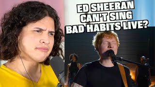"""Download Why """"Bad Habits """"by Ed Sheeran Sounds Different Live"""
