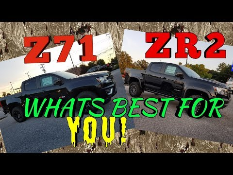 Z71 OR ZR2, WHICH IS BEST FOR YOU!