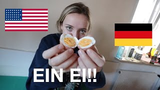 EATING GERMAN BREAKFAST! | The Americans in Germany