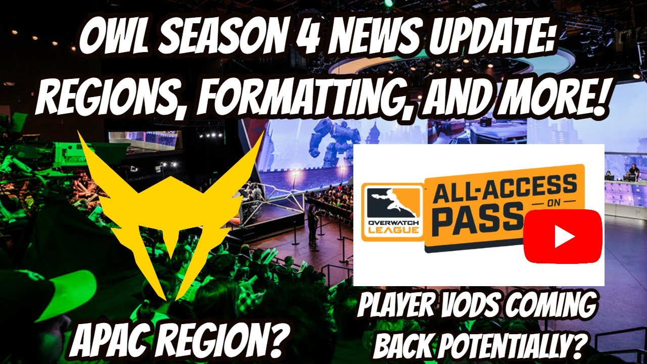 LA Valiant Join the APAC Region! Overwatch League Season 4 News Update!
