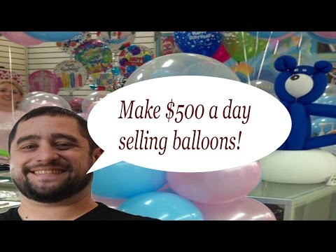 Make $500 $1000 A Day With This Balloon Decorating Idea. Balloon Tip Of The Week