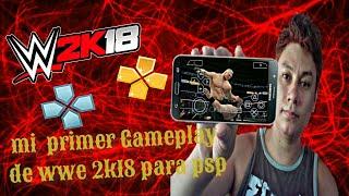 Wwe 2k18 psp gameplay video, Wwe 2k18 psp gameplay clips