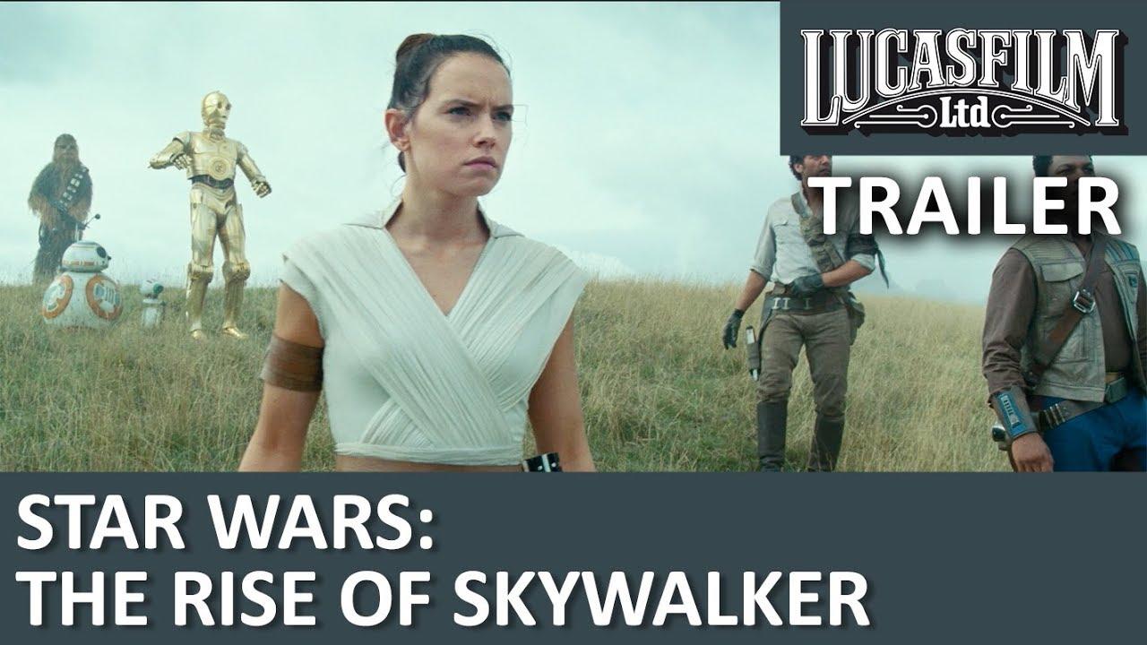 Star Wars: Episode IX – Official Trailer - Danske undertekster