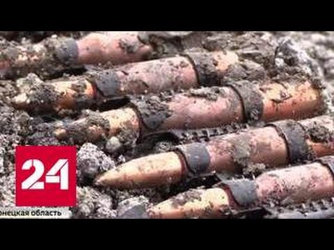 Донбасс: украинские солдаты