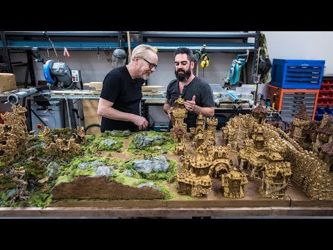Pipes - Weta Workshop Sculptor's Tabletop Miniature World! Adam Savage's Tested