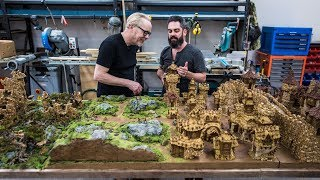 Weta Workshop Sculptor