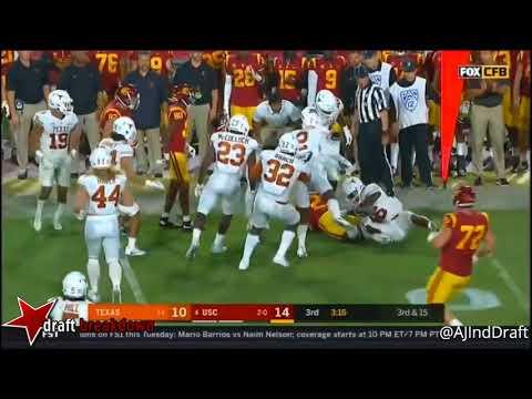 Malik Jefferson Texas LB vs USC -