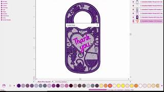 Embellish Maker : Mylar Wine Tag