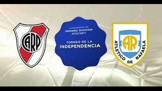 River Plate vs Atl. Rafaela full match