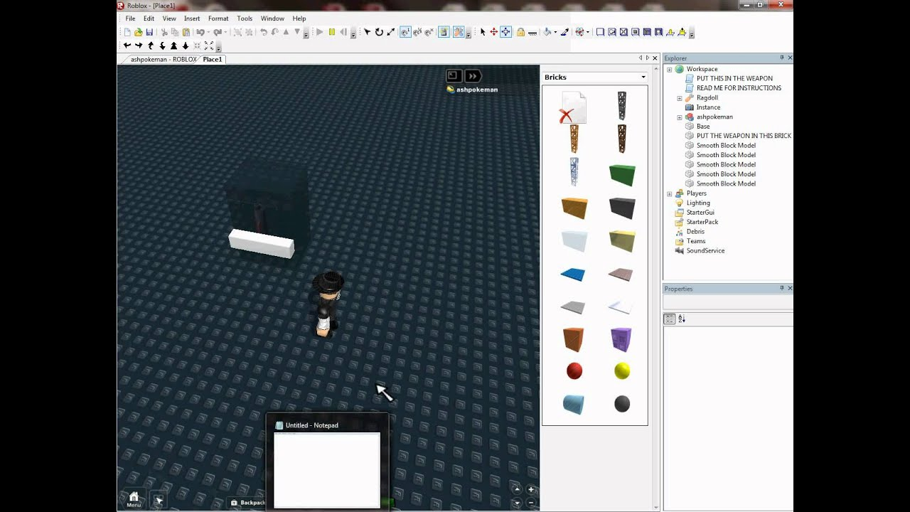 Roblox How to make a giver 2011 - YouTube