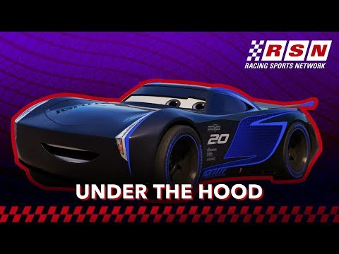 Under the Hood with Jackson Storm | Racing Sports Network by Disney