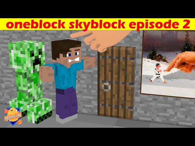 Minecraft one block skyblock episode 2