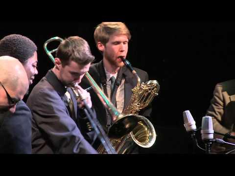"George Mason Jazz Ensemble performs ""Haitian Fight Song"" - Big Band Showdown 2015"