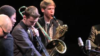 "George Mason Jazz Ensemble performs ""Haitian Fight Song"" - Big Band Showdown 2015"
