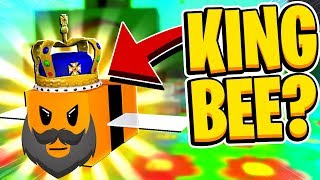NEW KING BEE First Mythical Bee In Roblox Bee Swarm Simulator
