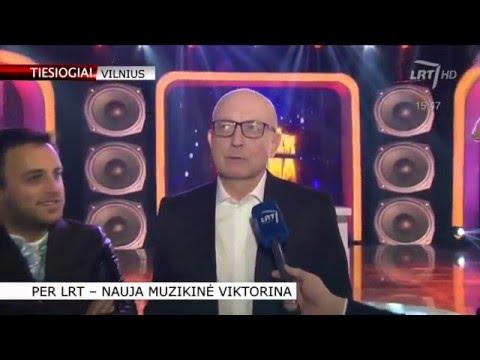 """LRT TELEVIZIJOS eteryje - nauja muzikinė laida """"Atspėk dainą"""""""